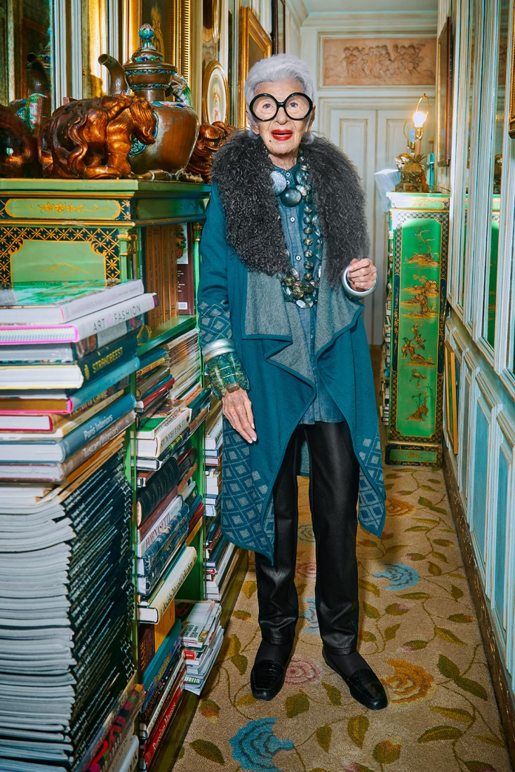 IRIS APFEL FOR BLUE ILLUSION